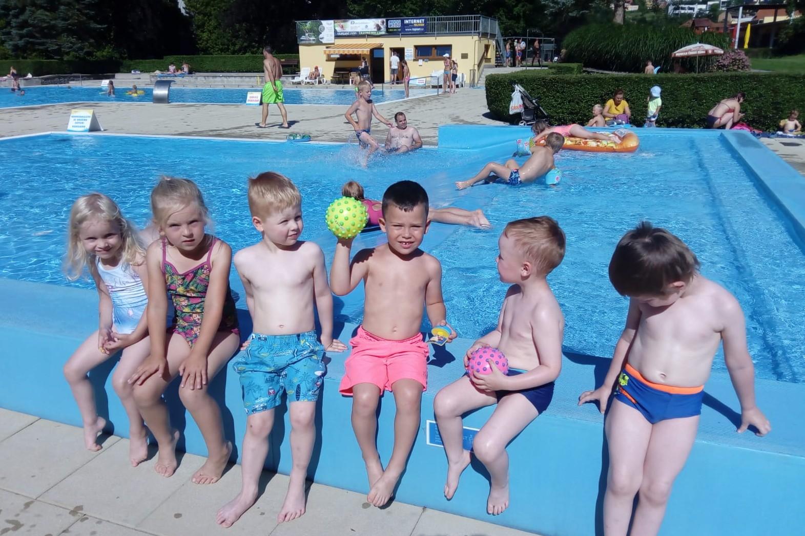 Léto jak má být...koupaliště Červenka 28.7.2020
