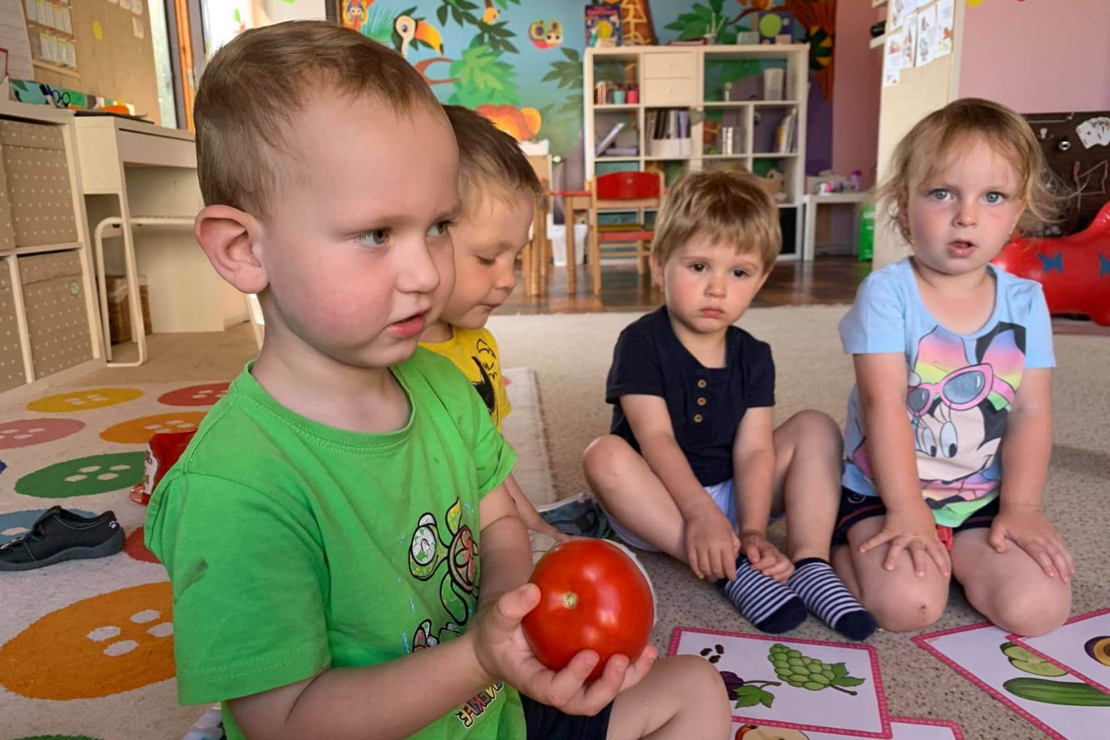 Povídáme si o ovoci a zelenině a ochutnáváme 30.7.2020