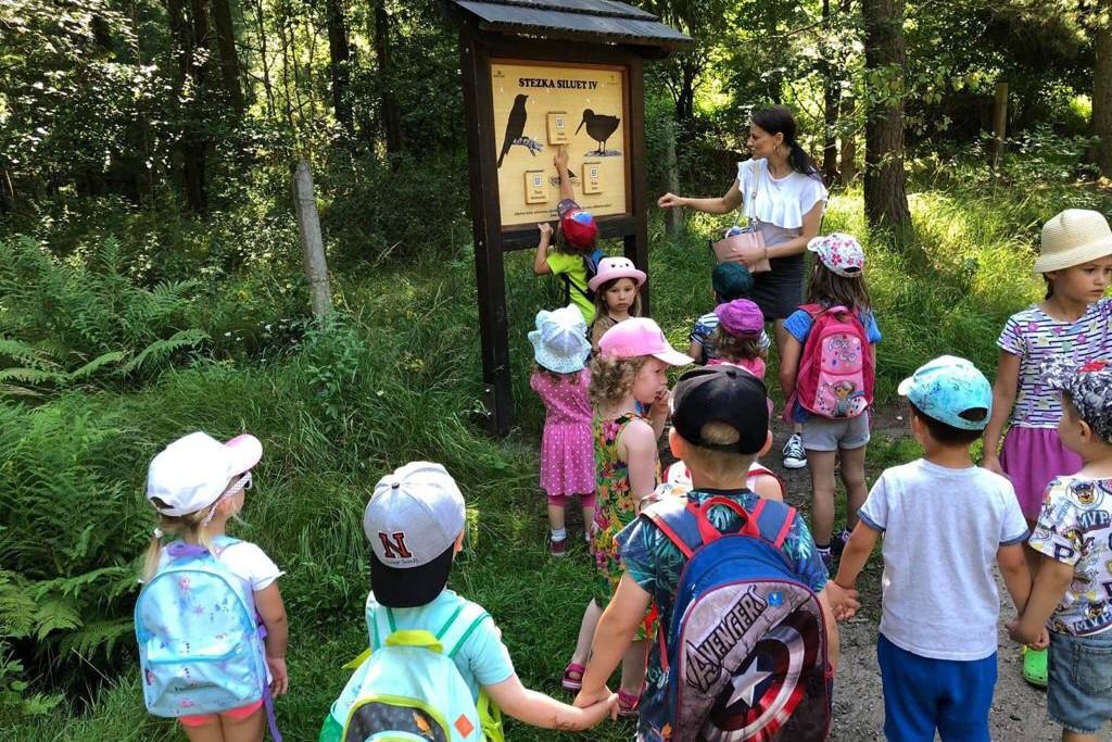 Cestování za zvířátky - učíme se v lese 28.7.2020