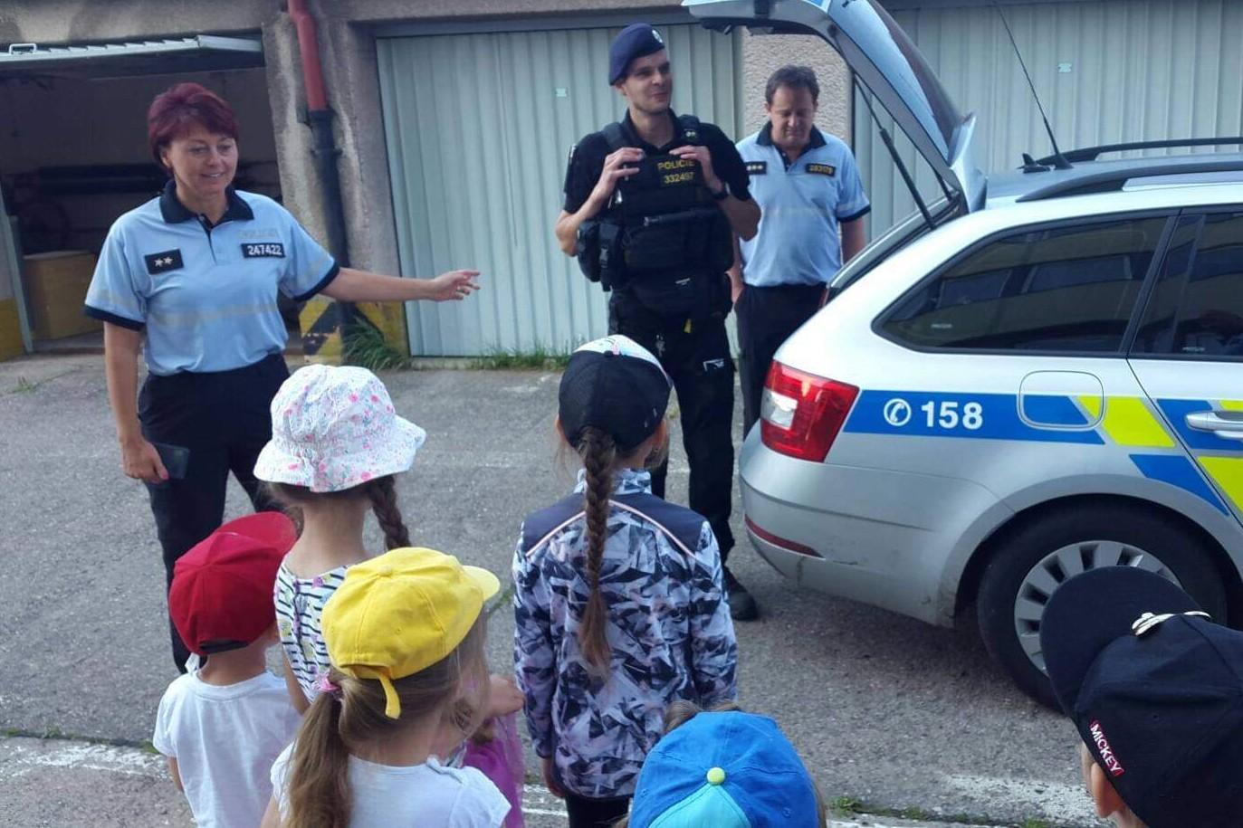Návštěva policejní stanice 6.8.2020